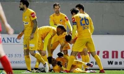 Νέα Σαλαμίνα 1-2 ΑΠΟΕΛ Στιγμιότυπα