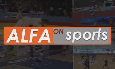 Alfa on Sports logo