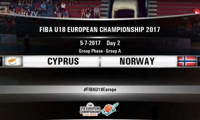 FIBA U18 - CYPRUS NORWAY