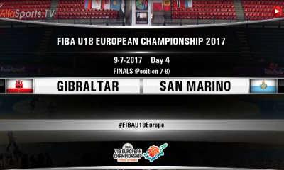 FIBA U18 -GIBRALTAR SAN MARINO