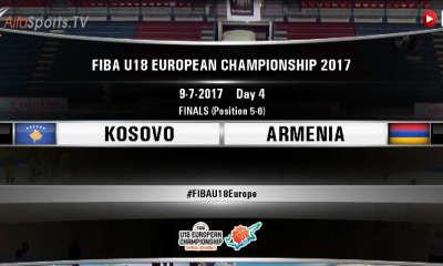 FIBA U18 -KOSOVO ARMENIA