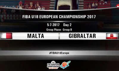 FIBA U18 - MALTA GIBRALTAR