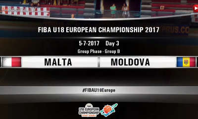 FIBA U18 - MALTA MOLDOVA