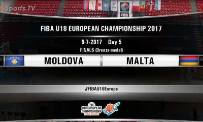 FIBA U18 -MOLDOVA MALTA