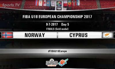 FIBA U18 -NORWAY CYPRUS