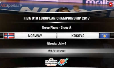 FIBA U18 - NORWAY KOSOVO