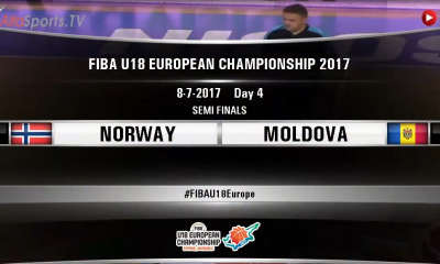 FIBA U18 - NORWAY MOLDOVA