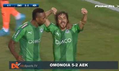 OMONOIA – AEK 5-2 (20-09-2017)